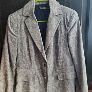 Suit jacket with 2 buttons like new!